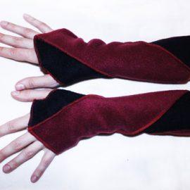 Armstulpen, Pulswärmer aus Fleece
