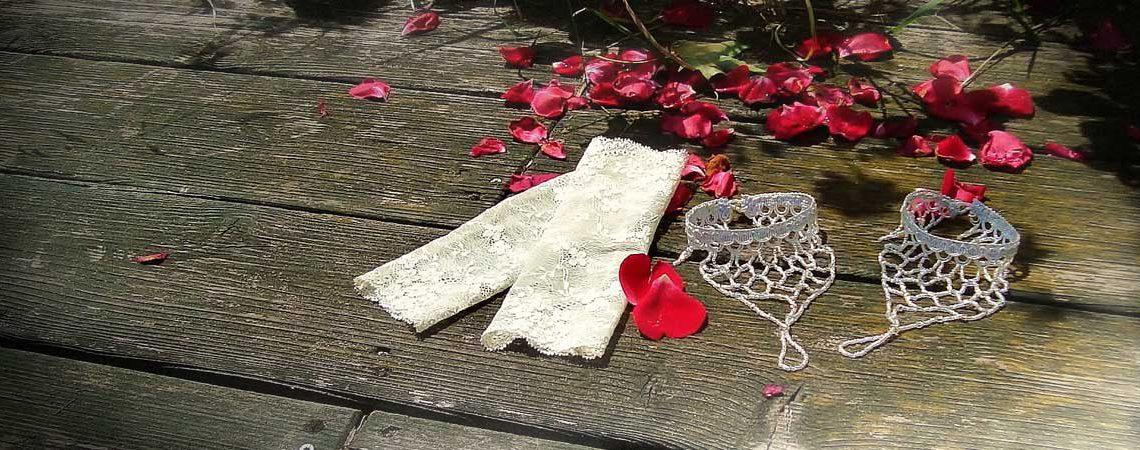 Brautstulpen Brautschmuck Fußschmuck