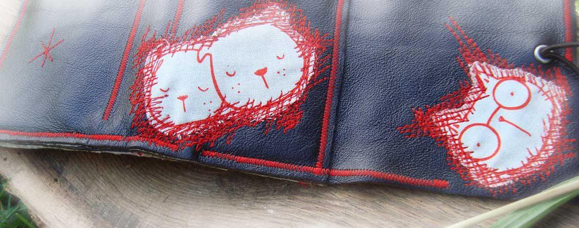 Portemonnaie Red Animals