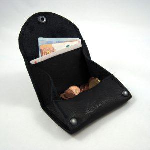 Portemonnaie klein, schwarz