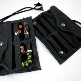 Schmucktaschen und Schmuckrollen