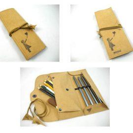 Stiftetaschen und Stifterollen, vegan