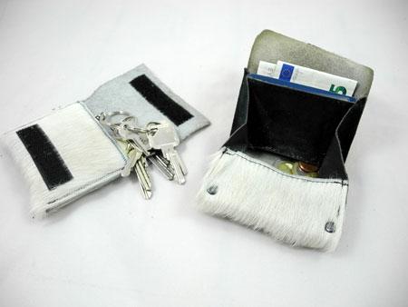Fellkollektion Porti und Schlüsseltasche